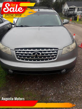 2004 Infiniti FX35 for sale at Augusta Motors in Augusta GA