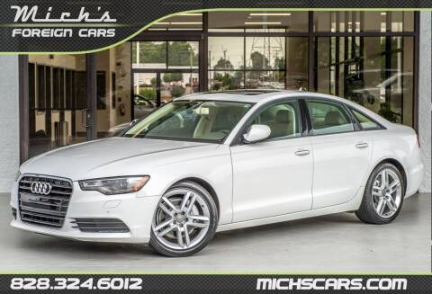 2015 Audi A6 for sale at Mich's Foreign Cars in Hickory NC