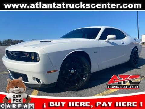 2016 Dodge Challenger for sale at ATLANTA TRUCK CENTER LLC in Brookhaven GA