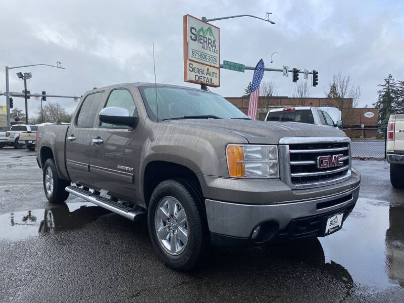 2012 GMC Sierra 1500 for sale at SIERRA AUTO LLC in Salem OR