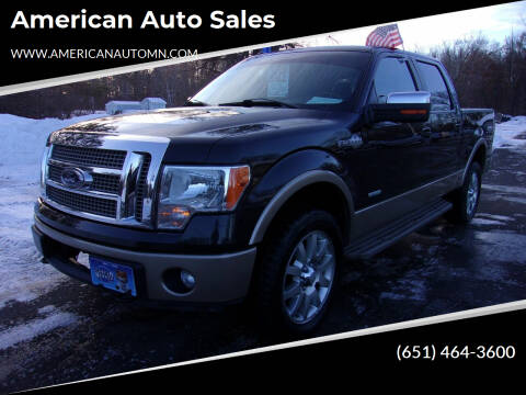 2012 Ford F-150 for sale at American Auto Sales in Forest Lake MN