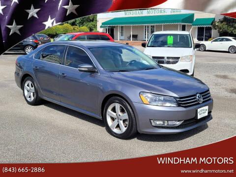2015 Volkswagen Passat for sale at Windham Motors in Florence SC