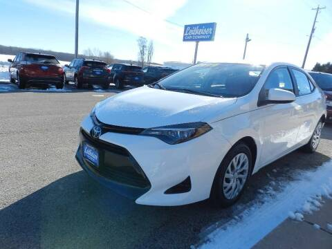 2018 Toyota Corolla for sale at Leitheiser Car Company in West Bend WI
