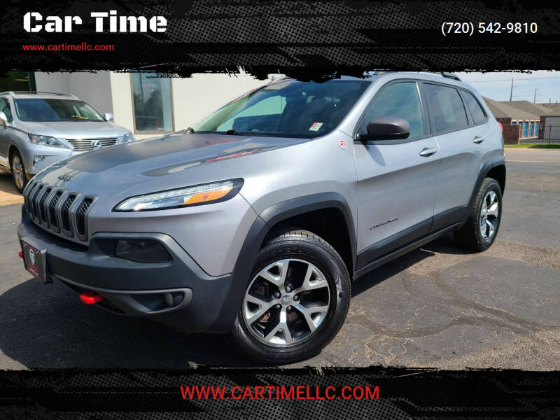 2015 Jeep Cherokee for sale at Car Time in Denver CO