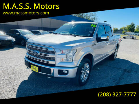 2016 Ford F-150 for sale at M.A.S.S. Motors - MASS MOTORS in Boise ID