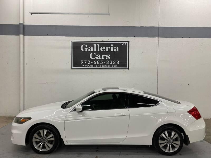 2011 Honda Accord for sale at Galleria Cars in Dallas TX