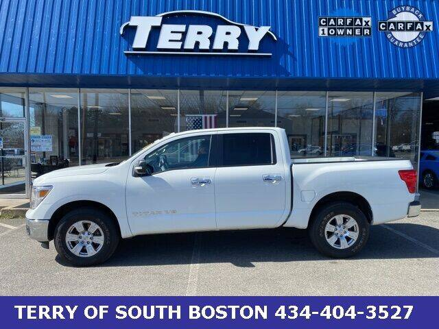 2018 Nissan Titan for sale at Terry of South Boston in South Boston VA