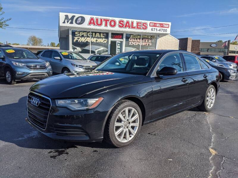 2013 Audi A6 for sale at Mo Auto Sales in Fairfield OH