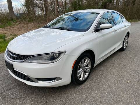 2015 Chrysler 200 for sale at Speed Auto Mall in Greensboro NC