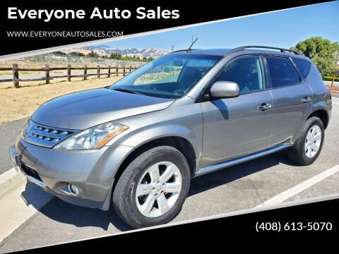 2007 Nissan Murano for sale at Everyone Auto Sales in Santa Clara CA