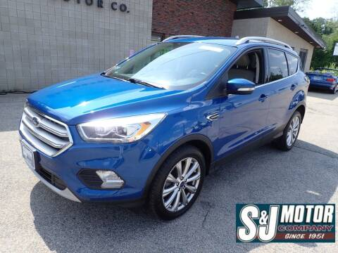 2018 Ford Escape for sale at S & J Motor Co Inc. in Merrimack NH