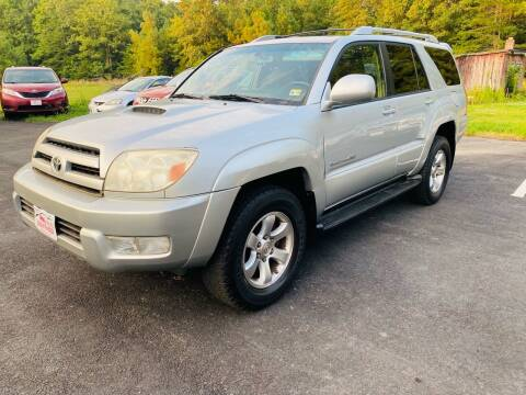 2004 Toyota 4Runner for sale at MBL Auto Woodford in Woodford VA
