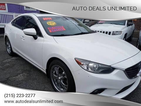 2014 Mazda MAZDA6 for sale at AUTO DEALS UNLIMITED in Philadelphia PA