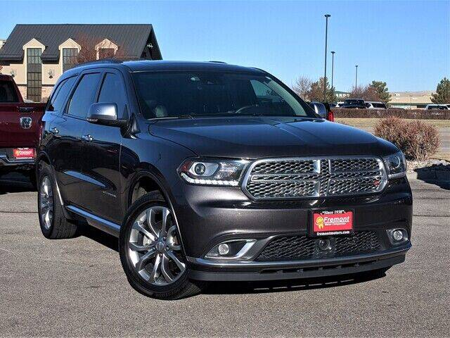 2017 Dodge Durango for sale at Rocky Mountain Commercial Trucks in Casper WY