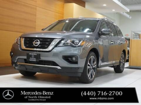 2020 Nissan Pathfinder for sale at Mercedes-Benz of North Olmsted in North Olmstead OH
