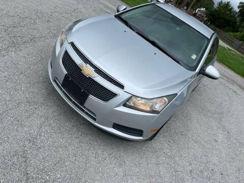 2012 Chevrolet Cruze for sale at Supreme Auto Gallery LLC in Kansas City MO