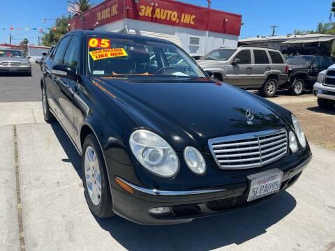 2005 Mercedes-Benz E-Class for sale at 3K Auto in Escondido CA