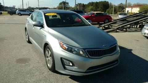 2014 Kia Optima Hybrid for sale at Kelly & Kelly Supermarket of Cars in Fayetteville NC
