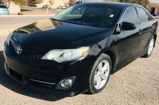 2013 Toyota Camry for sale at Fiesta Motors Inc in Las Cruces NM
