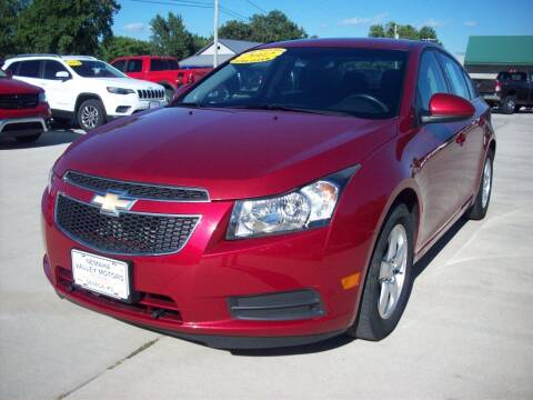 2012 Chevrolet Cruze for sale at Nemaha Valley Motors in Seneca KS