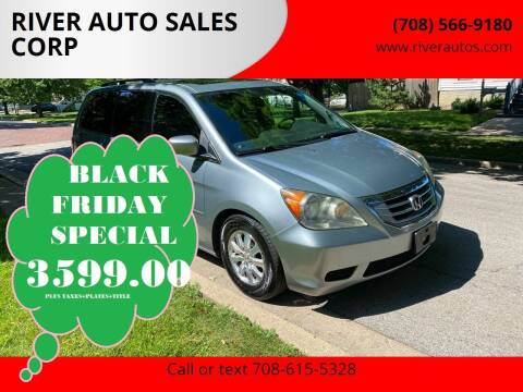 2009 Honda Odyssey for sale at RIVER AUTO SALES CORP in Maywood IL
