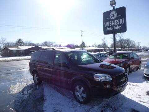 2007 Chevrolet Uplander for sale at Wisneski Auto Sales, Inc. in Green Bay WI