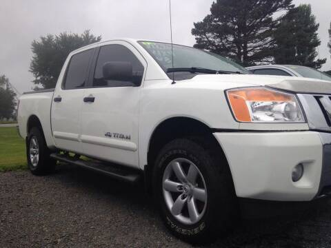 2013 Nissan Titan for sale at EAGLE ONE AUTO SALES in Leesburg OH