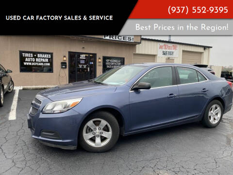 2013 Chevrolet Malibu for sale at Used Car Factory Sales & Service Troy in Troy OH