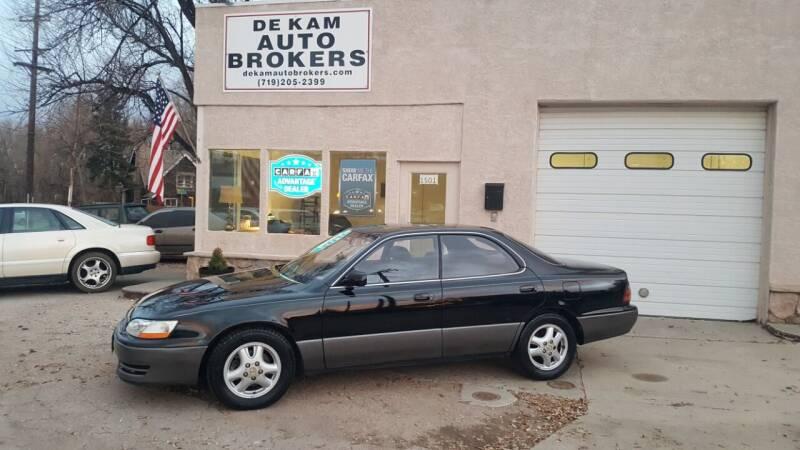 1992 Lexus ES 300 for sale at De Kam Auto Brokers in Colorado Springs CO