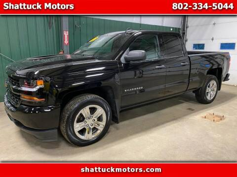 2018 Chevrolet Silverado 1500 for sale at Shattuck Motors in Newport VT