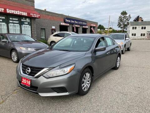 2016 Nissan Altima for sale at AutoCredit SuperStore in Lowell MA