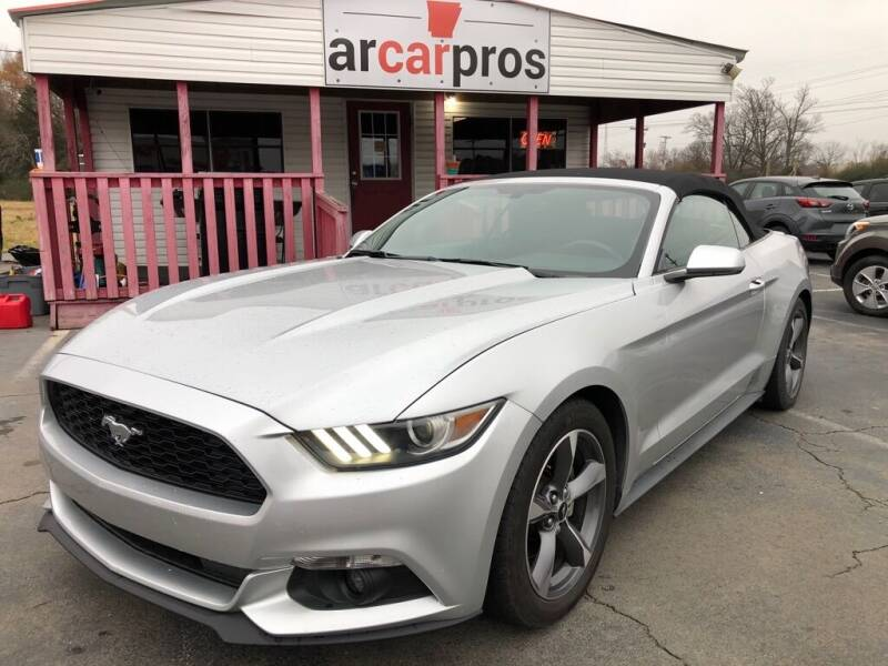 2015 Ford Mustang for sale at Arkansas Car Pros in Cabot AR