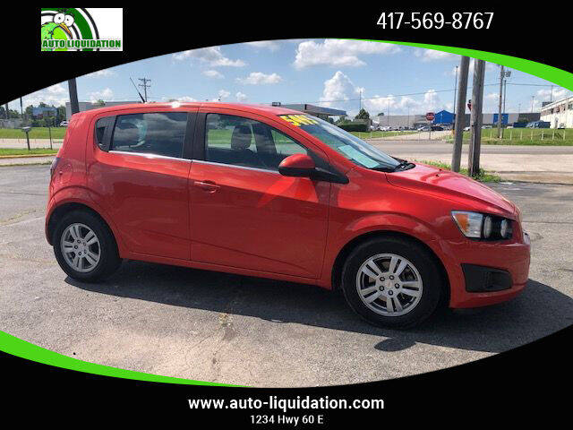 2012 Chevrolet Sonic for sale at Auto Liquidation in Springfiled MO