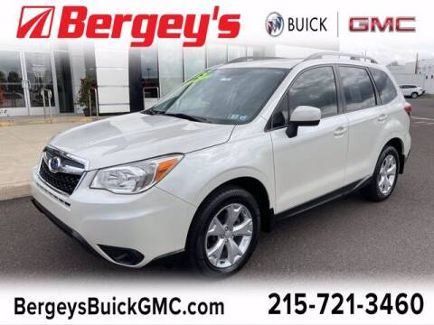 2015 Subaru Forester for sale at Bergey's Buick GMC in Souderton PA
