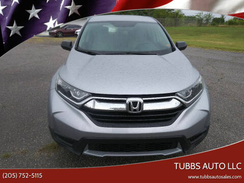 2018 Honda CR-V for sale at Tubbs Auto LLC in Tuscaloosa AL