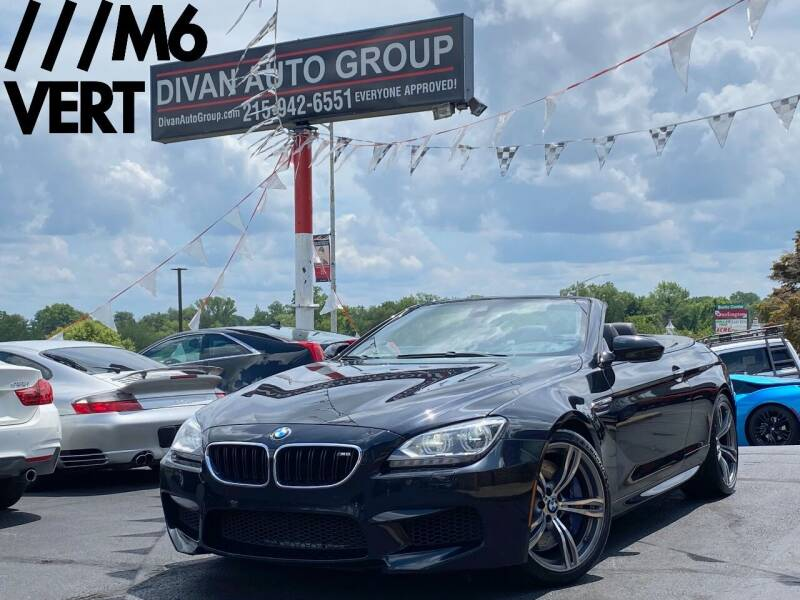 2013 BMW M6 for sale at Divan Auto Group in Feasterville Trevose PA