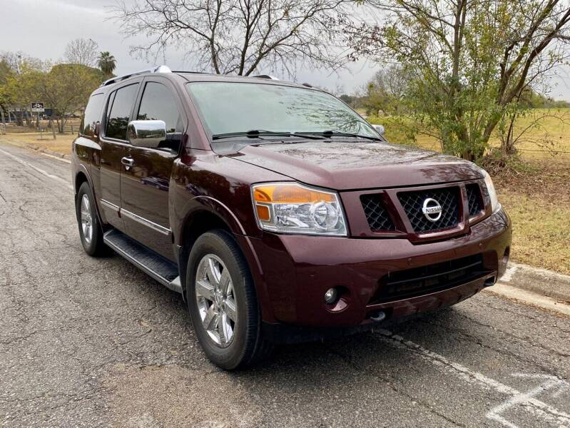 2014 Nissan Armada for sale at Texas Auto Trade Center in San Antonio TX