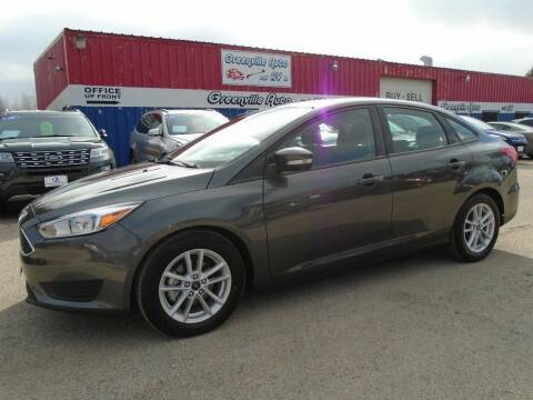 2017 Ford Focus for sale at GREENVILLE AUTO & RV in Greenville WI