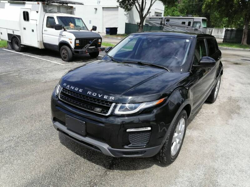 2016 Land Rover Range Rover Evoque for sale at Best Price Car Dealer in Hallandale Beach FL