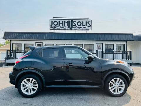 2015 Nissan JUKE for sale at John Solis Automotive Village in Idaho Falls ID