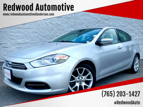 2013 Dodge Dart for sale at Redwood Automotive in Anderson IN