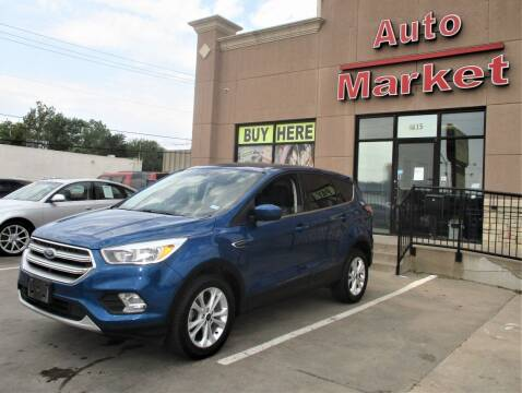 2017 Ford Escape for sale at Auto Market in Oklahoma City OK