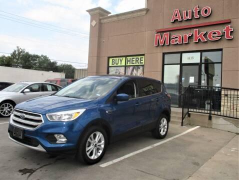 2017 Ford Escape for sale at Auto Market in Oklahoma City OK
