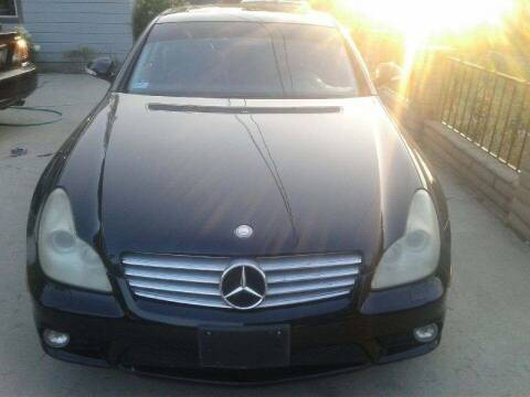 2006 Mercedes-Benz CLS for sale at RN AUTO GROUP in San Bernardino CA