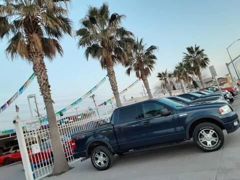 2005 Ford F-150 for sale at Monaco Auto Center LLC in El Paso TX