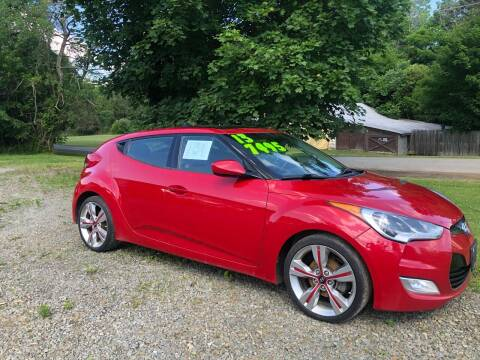 2013 Hyundai Veloster for sale at Brush & Palette Auto in Candor NY