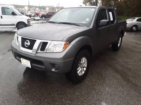 2016 Nissan Frontier for sale at Strosnider Chevrolet in Hopewell VA