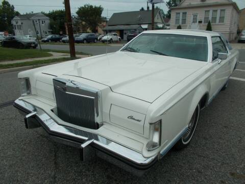 1978 Lincoln Continental for sale at Mercury Auto Sales in Woodland Park NJ