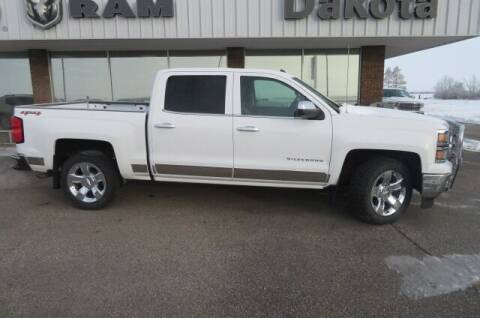 2015 Chevrolet Silverado 1500 for sale at DAKOTA CHRYSLER CENTER in Wahpeton ND