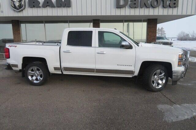 2015 Chevrolet Silverado 1500 for sale at DAKOTA CHRYSLER CENTER in Wahpeton ND